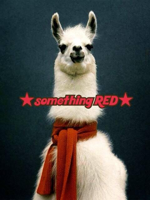 ドレスコードは「赤」!