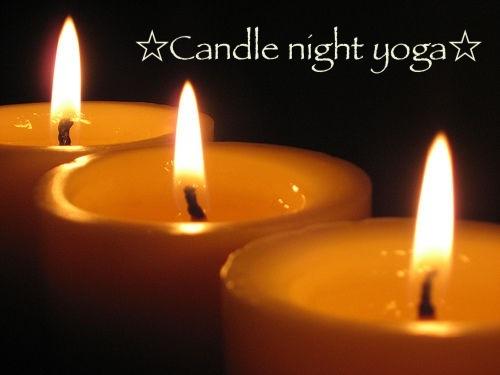 キャンドルの灯りの中で『初めてのヨガ』♪自分の心と身体を愛してハッピーに!