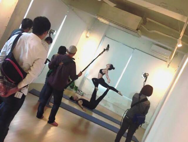 ★シャクティヨガスタジオにTVが来ました!!!★